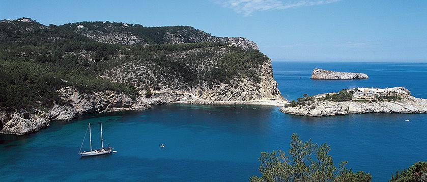 Fähre nach Frankreich online buchen schöne Bucht