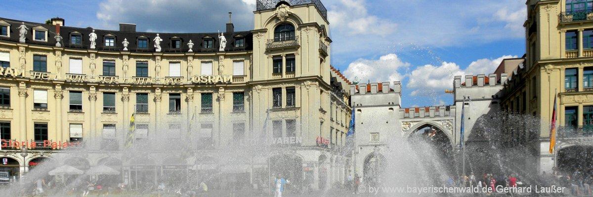 Sehenswürdigkeiten und Ausflugsziele in München